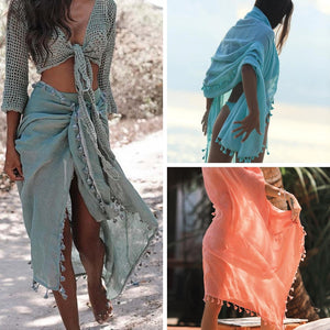 Tassel Bikini Cover-up