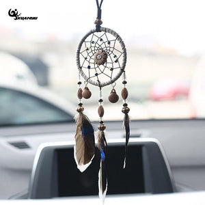 Small 3 Feathered Dream Catcher