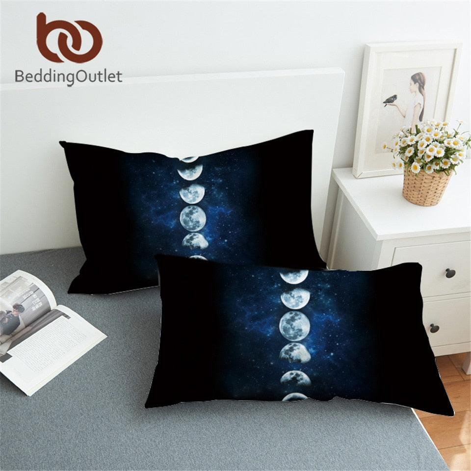 Moon Eclipse Changing Pillowcase