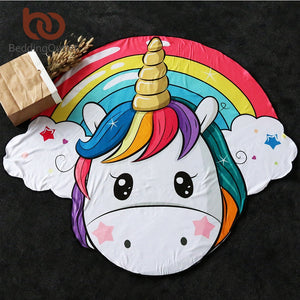 Unicorn  Beach Towel