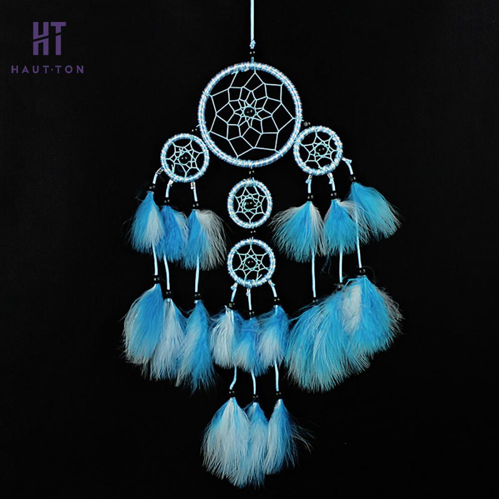 Blue White Multi Ring Dreamcatcher