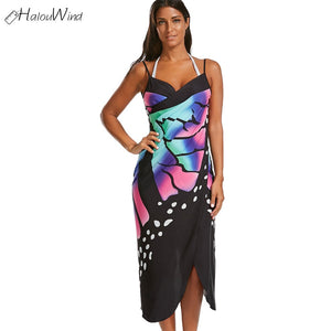Butterfly Sling Bikini Cover Up