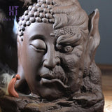 Buddha Head Incense Holder