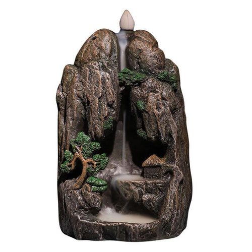 Mountains And Flowing Incense Holder