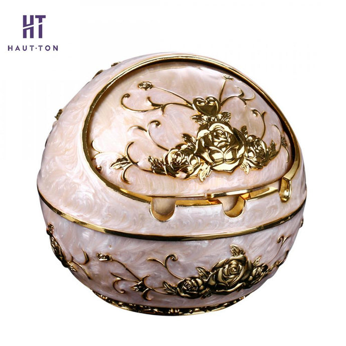 Luxurious Ball Shape Ashtray