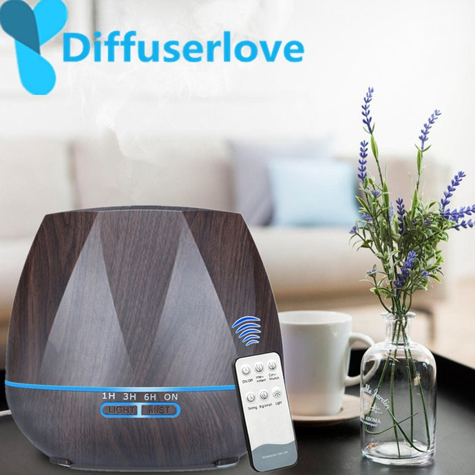 500ML Essential Oil Diffuser  With Remote Control