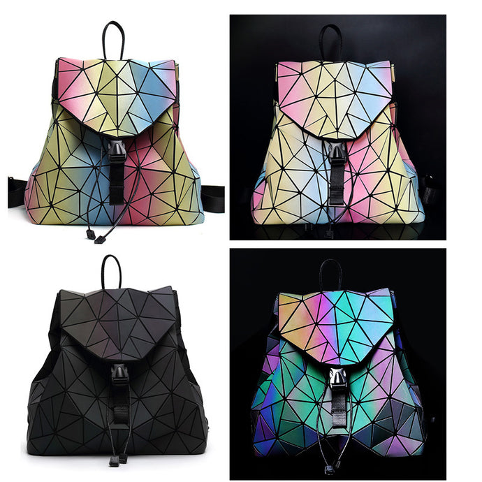 Diamond  Geometry Luminous Backpack