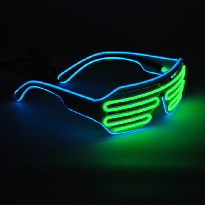 Rave DJ Light-Up Glasses