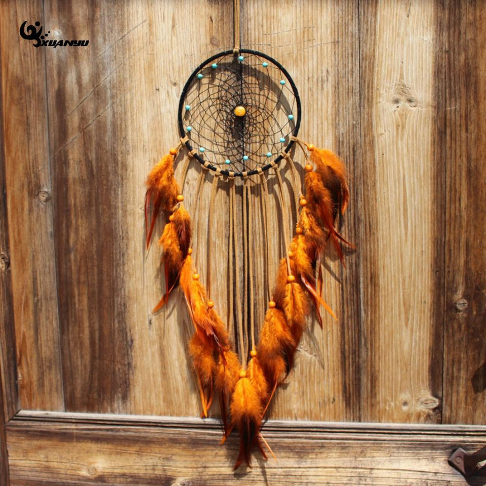 Fashion India Style Feather Pendant  Dream Catcher