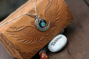 Zodiac Moon Necklace