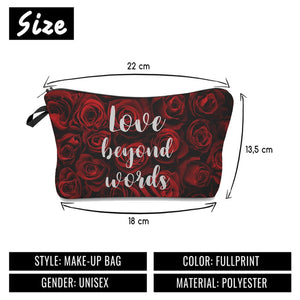 Love Beyond Words Makeup Bag