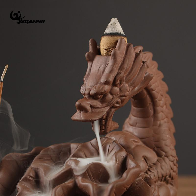 Dragon Stick Tower Incense Holder