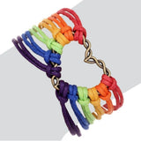 Love Heart LGBTQ Bracelet