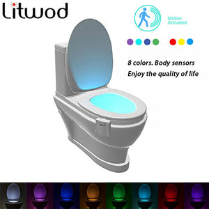 Smart Bathroom Motion Light For Toilet