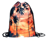 Sunset Drawstring Bag
