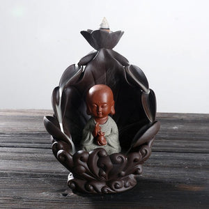 Lotus Buddha Incense Holder
