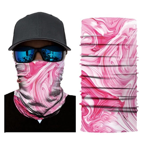 Pink Waves Mask