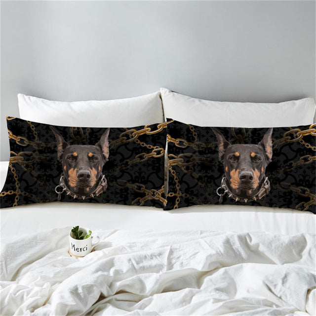 Mans Best Friend Pillowcase