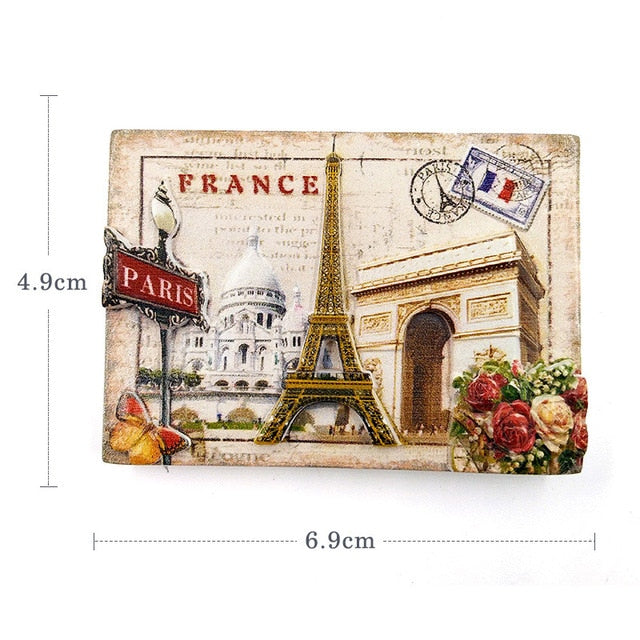 Cute Travel Fridge Magnets