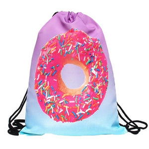 Sweet Tooth Drawstring Bag