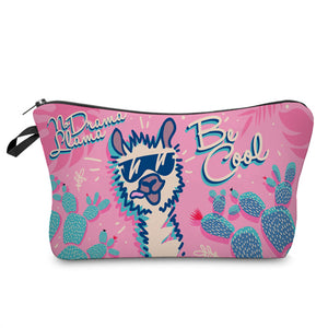 No Drama Llama - Be Cool Makeup Bag