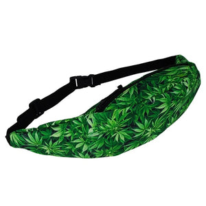 My Green Leaf Friend Hip Pack