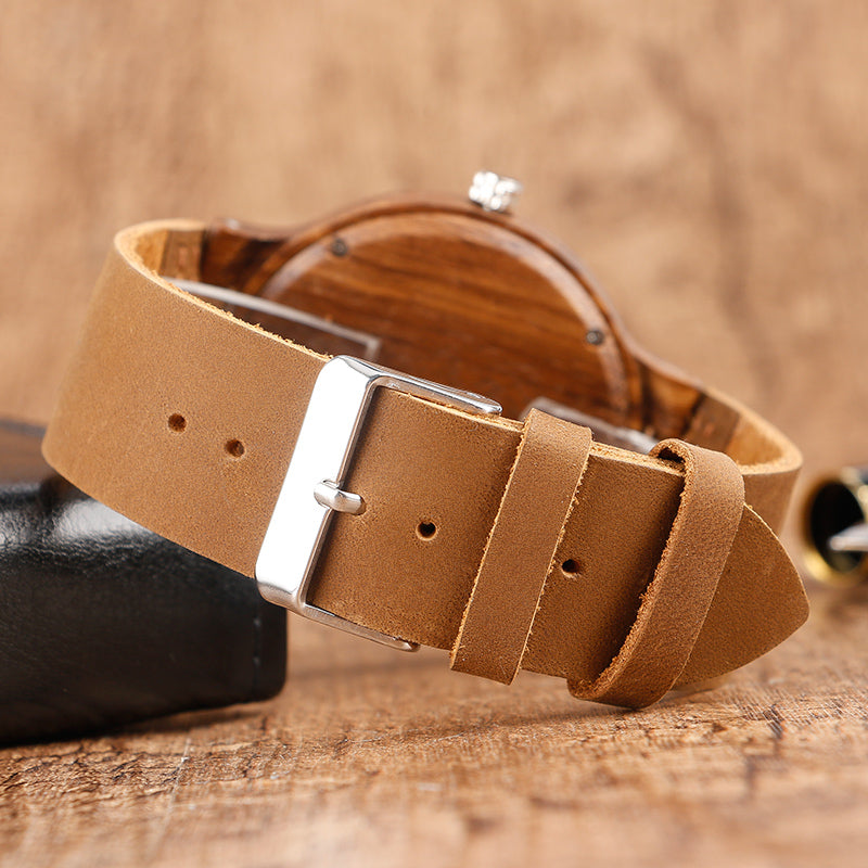 Woodface Wooden Bamboo Watch