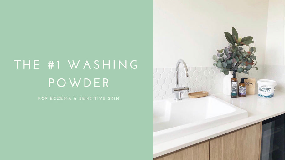The #1 Washing Powder For Eczema & Sensitive Skin