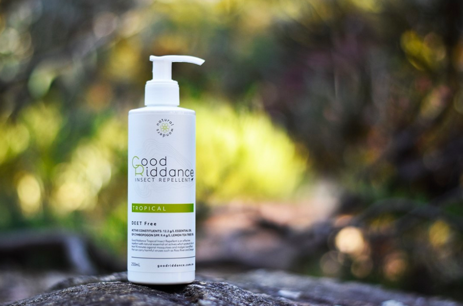 Is Good Riddance Australia's best natural insect repellent?