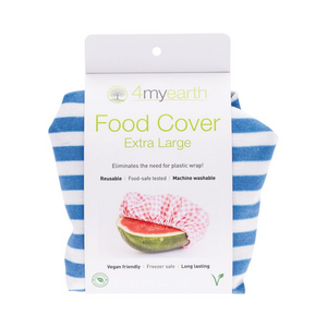 4myearth Food Covers - Extra Large - Denim Stripe