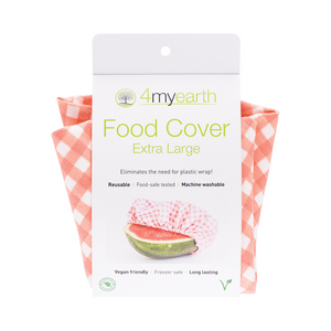 4myearth Food Covers - Extra Large - Red Gingham