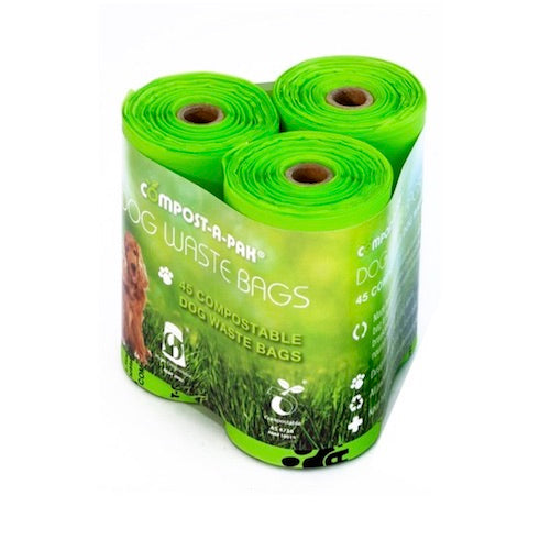 Compost-A-Pooch Compostable Dog Poo Bags - 3 pack