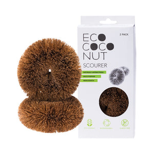 ecococonut scourers pictured with box