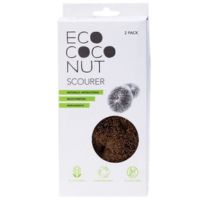 ecococonut scourers in box