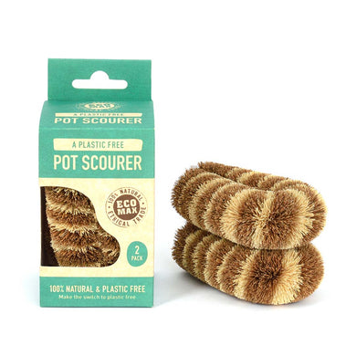 Eco Max Pot Scourer - Twin Pack