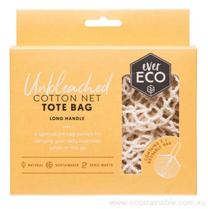 everECO Cotton Net Tote Bag - Long Handle