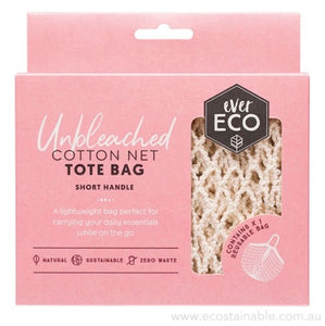 everECO Cotton Net Tote Bag - Short Handle