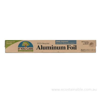 If You Care - Recycled Aluminium Foil