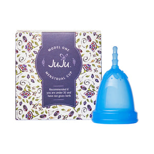 JuJu Menstrual Cup - Model 1 - Blue