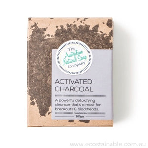 The Australian Natural Soap Company Activated Charcoal Box