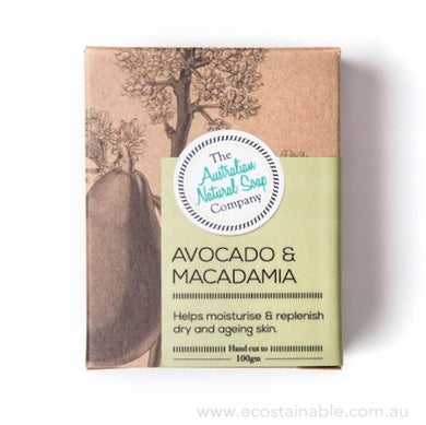 The Australian Natural Soap Company Avocado & Macadamia Box