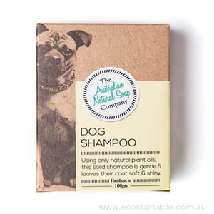 The Australian Natural Soap Company Dog Shampoo Box