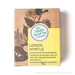 The Australian Natural Soap Company Lemon Myrtle Box