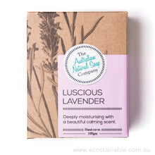 The Australian Natural Soap Company Luscious Lavender Box