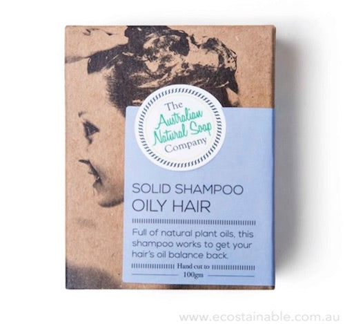 The Australian Natural Soap Company Oily Hair Shampoo Box