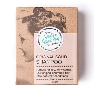 The Australian Natural Soap Company Original Shampoo Box