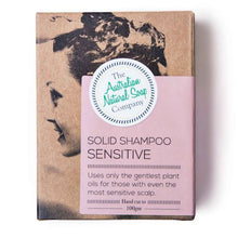 The Australian Natural Soap Company Sensitive Shampoo Box