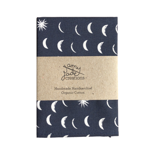 Organic Cotton Hanky - Fall Dusk