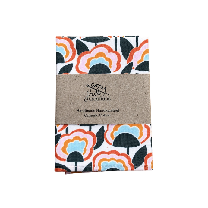 Organic Cotton Hanky - Afterglow