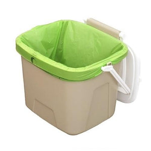 Compost-A-Pak Kitchen Caddy Liners in Caddy